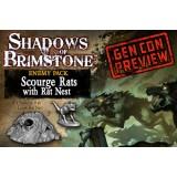 Shadows of Brimstone: Scourge Rats / Rats Nest Enemy Set