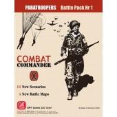 Combat Commander Battle Pack  #1: Paratroops, 3rd Printing