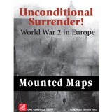 Unconditional Surrender Mounted Map Set