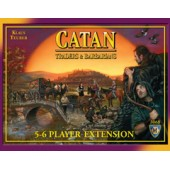 Settlers of Catan: Traders & Barbarians 5-6 Player Extension