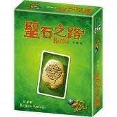 聖石之路 卡牌版  (改良 Lost Cities 的多人版)  Keltis card game (CH ver.)